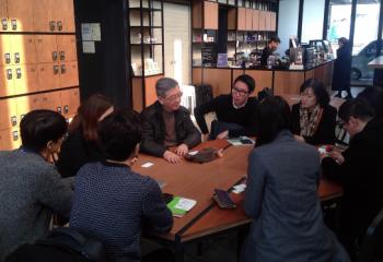 전·현직 CEO와 후배가 함께하는 점심식사 진행 (매일경제 2015.03.18)